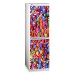 наклейки на холодильник абстракция купить