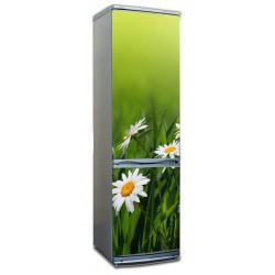 наклейки на холодильник цветы ромашки купить