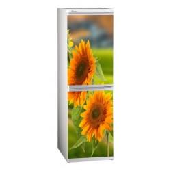 наклейки на холодильник цветы подсолнухи купить